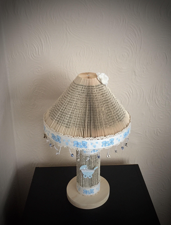 Unusual Baby Boy Nursery Lamp Handmade