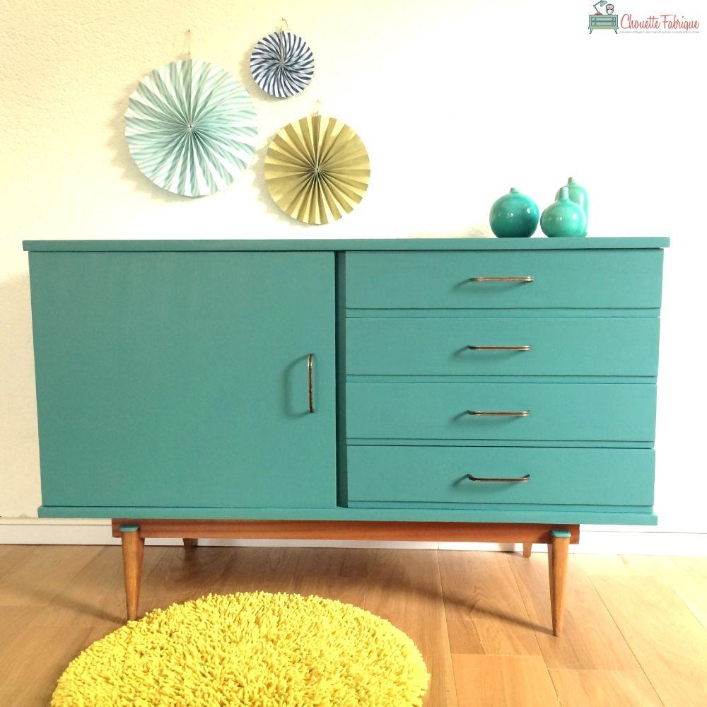 philomene la petite enfilade des annees 50 coloris vert eucalyptus par chouette fabrique. Black Bedroom Furniture Sets. Home Design Ideas