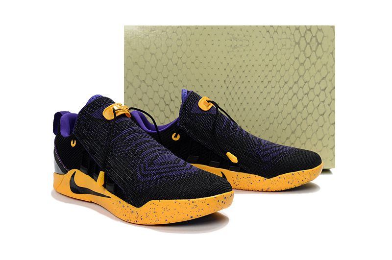 more photos d36e3 bdbf8 Nike Kobe AD NXT New Colorways 2017 Lakers Black Purple Gold - Click Image  to Close