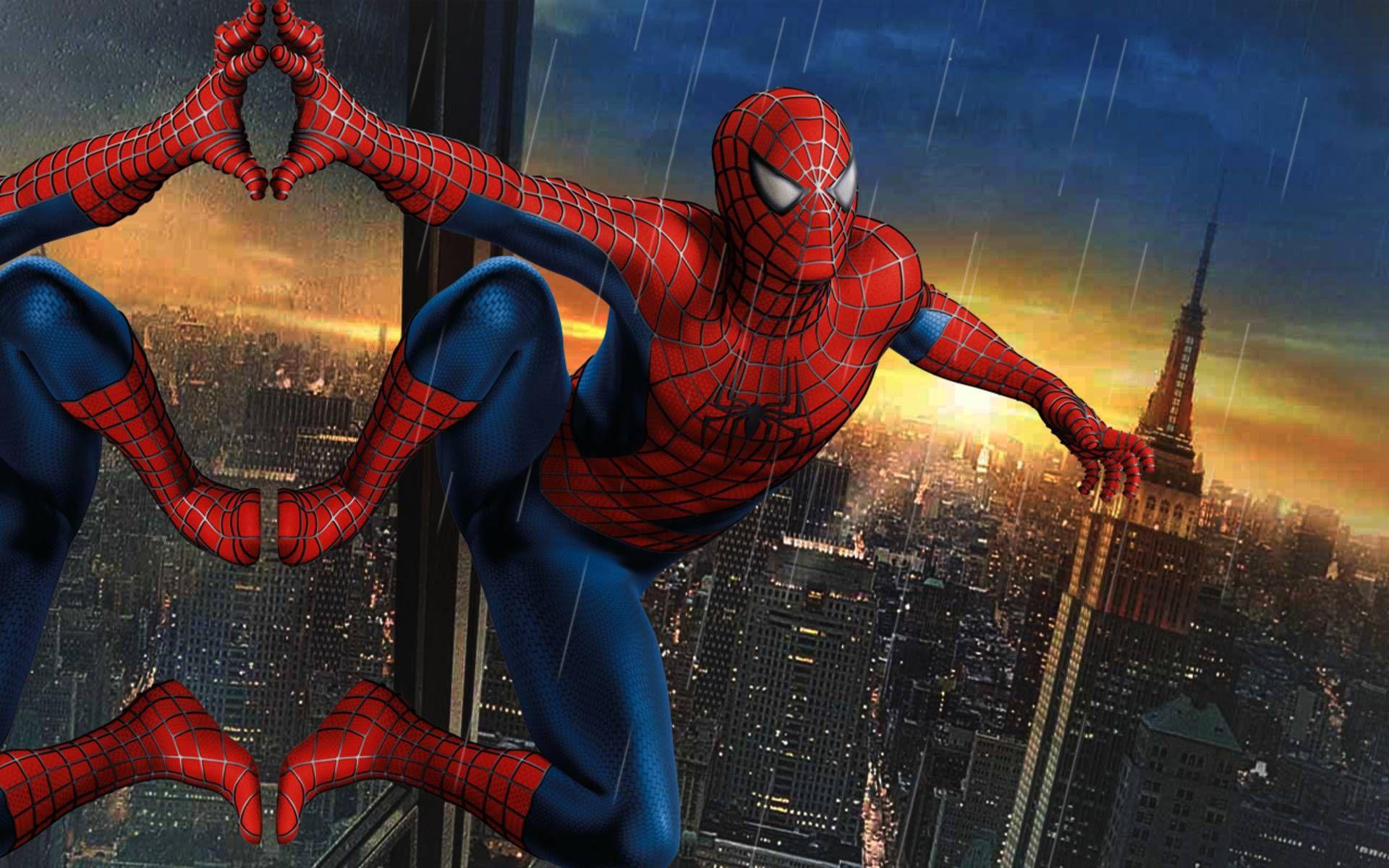 Spiderman Hd Wallpaper 1920x1080 Via Classy Bro Ultimate Spider Man Spiderman Bilder