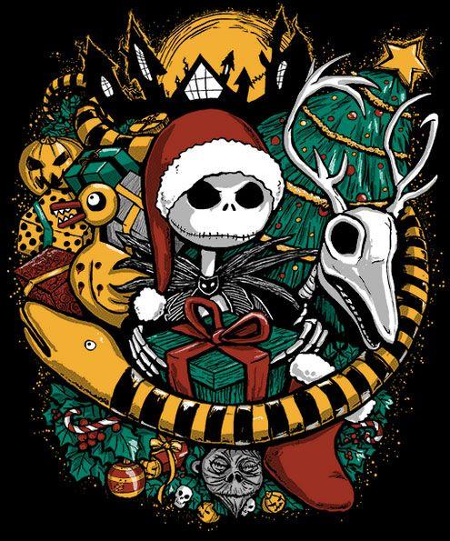 Ya Es Navidad En Halloween Town Lienzo De Harry Potter Arte De Tim Burton Mundo De Jack
