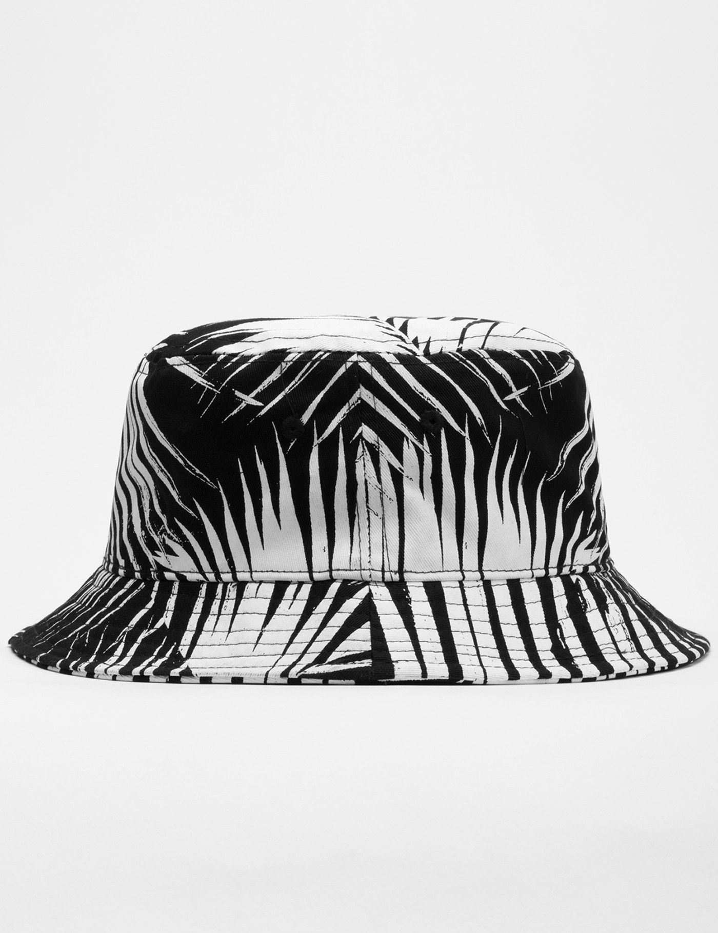 6e49f540364858 Shop STAMPD Black Palm Print Bucket Hat at HBX. Free Worldwide Shipping  available.