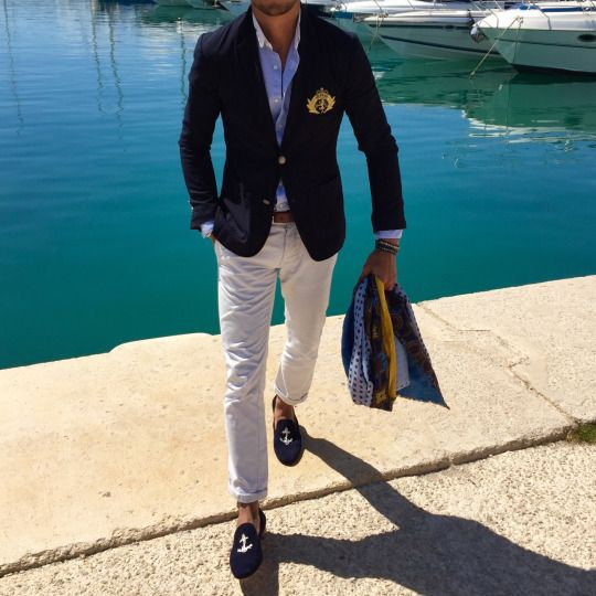 LOUIS-NICOLAS DARBON - Ibiza casual chic boating outfit