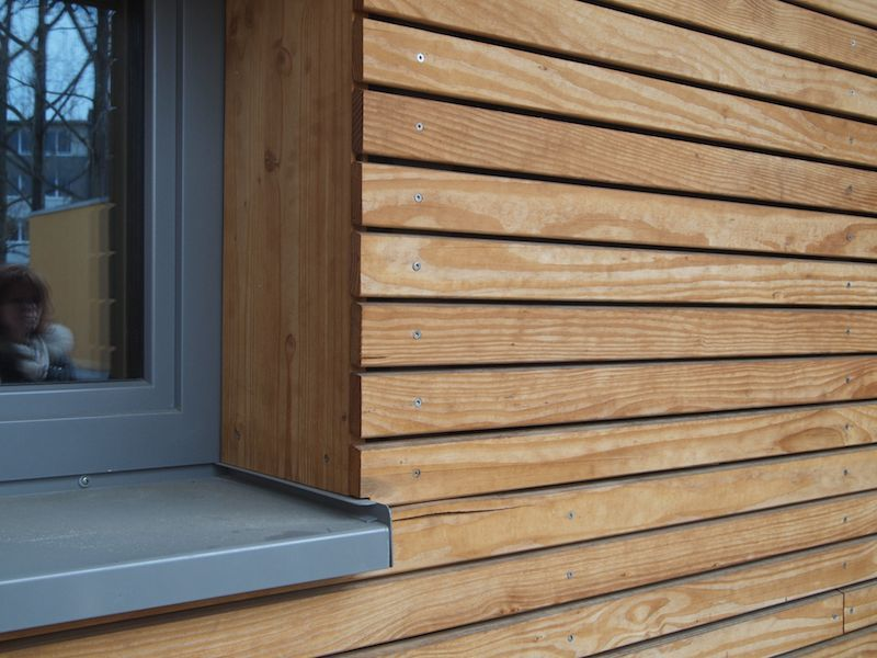 window to cladding detail cladding pinterest