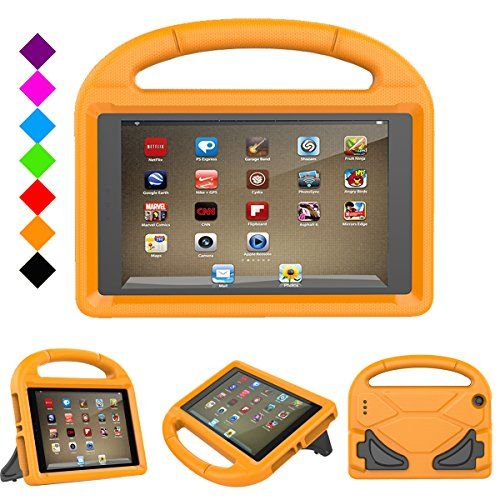 Fire 7 2017 Kids Case Fire 7 2015 Case Jautenier Light Weight Shock Proof Protection Handle Stand Kidproof Cover Case Amazon Gadgets Kindle Fire Kids Tablet 7