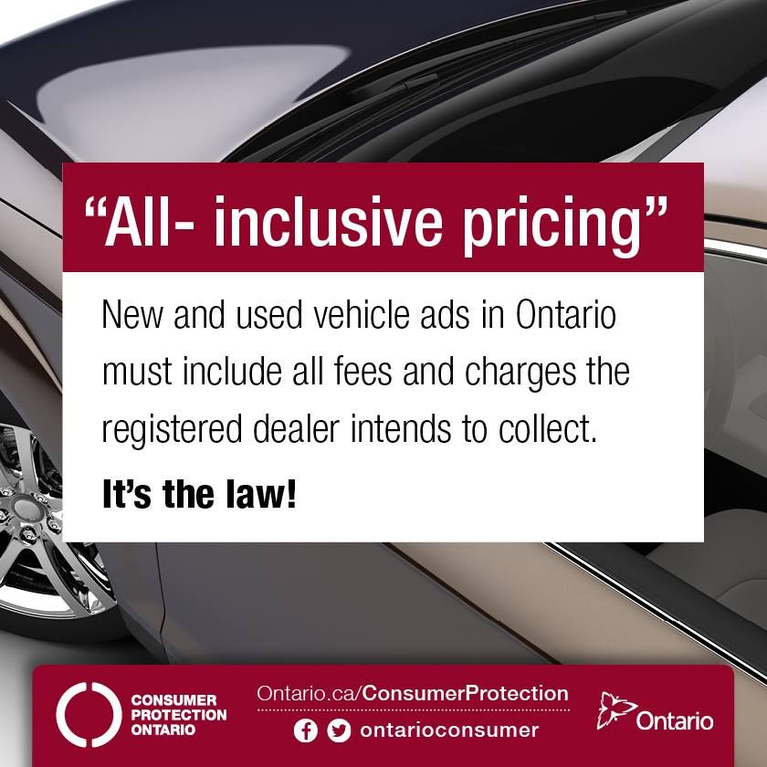 Buying a new or used vehicle your rights ads news ontario