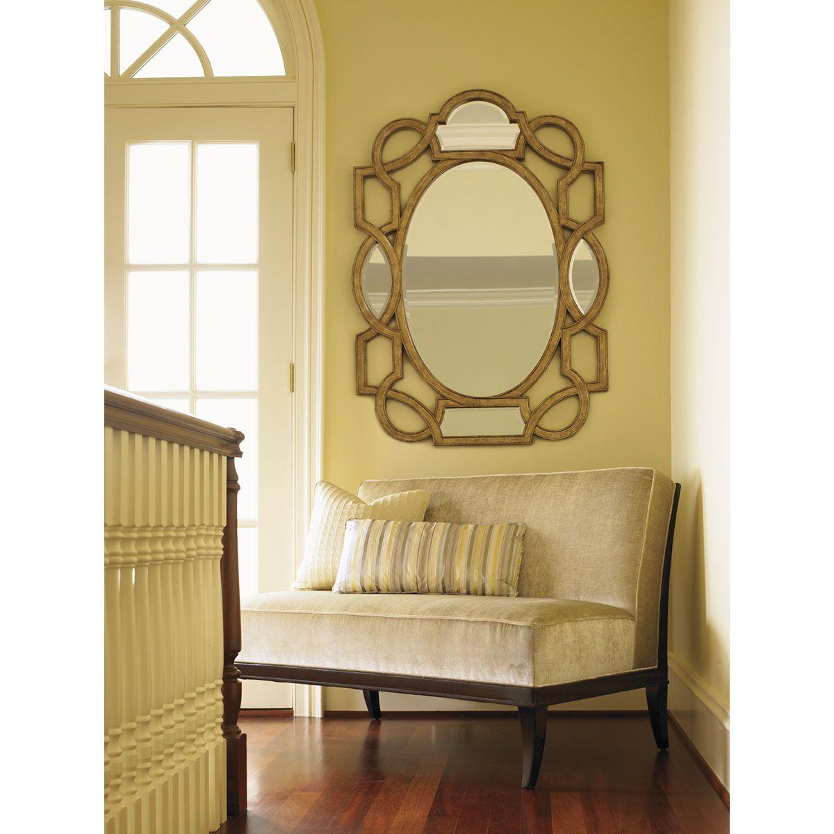Lexington St. Tropez Granville Scroll Mirror 339202