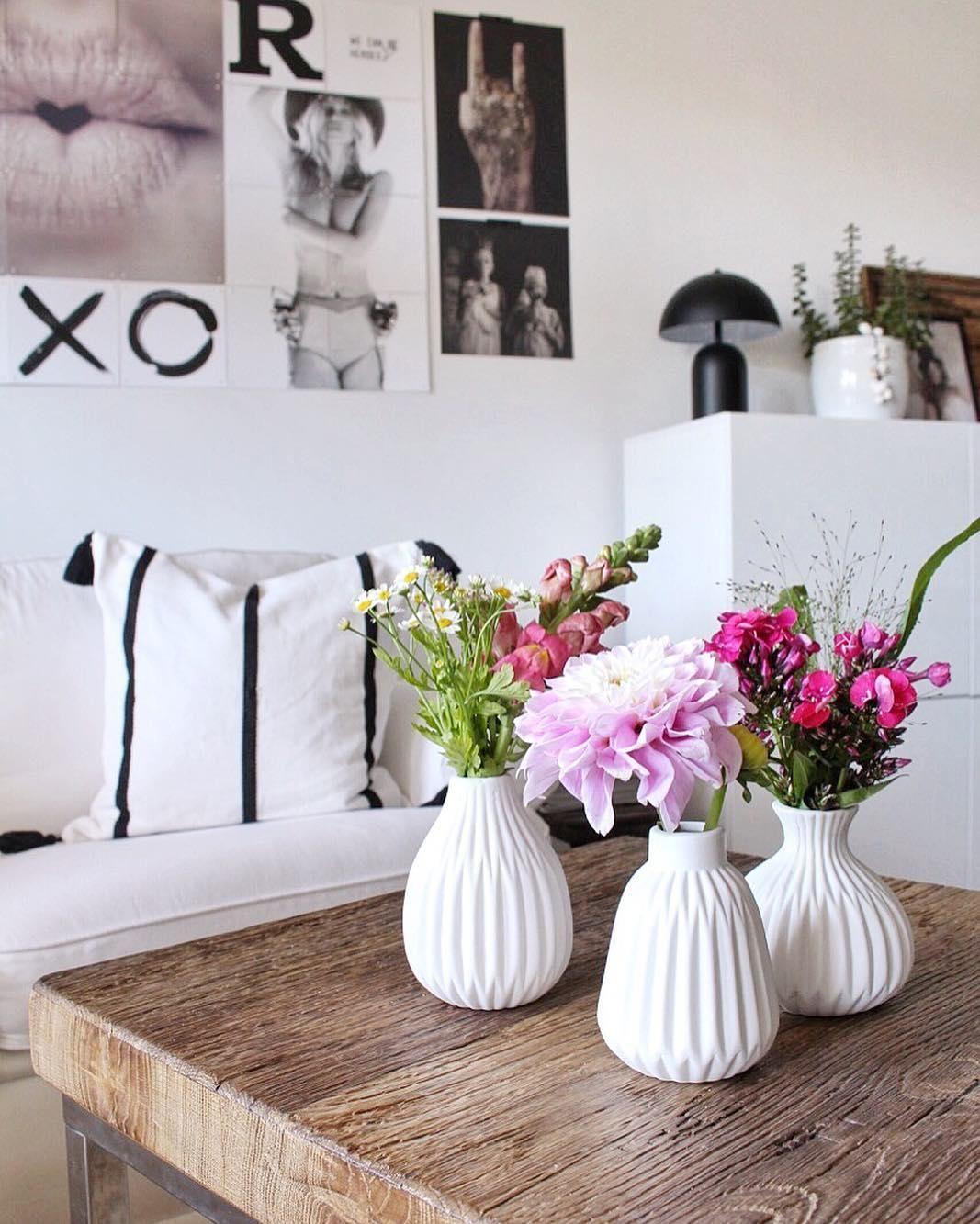 Kleines Vasen Set Esko Aus Porzellan 3 Tlg Westwingnow Gunstige Wohndeko Haus Deko Dekoration Wohnzimmer