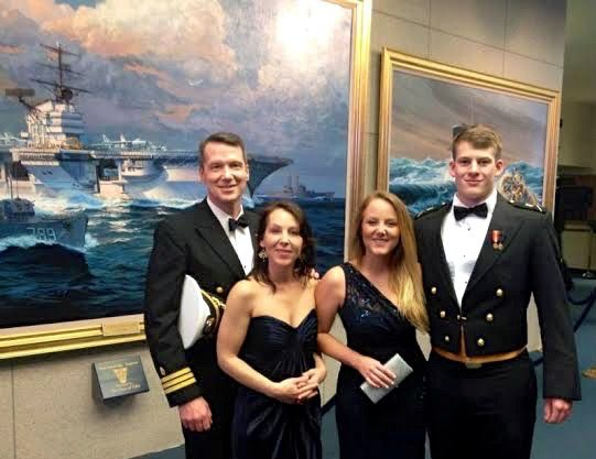 Julian At The International Ball At Usna Divine Mother Naval Academy World