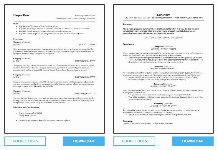 25 microsoft free resume templates in 2020 student