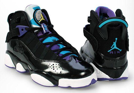 Air Jordan Six Rings GS - Black
