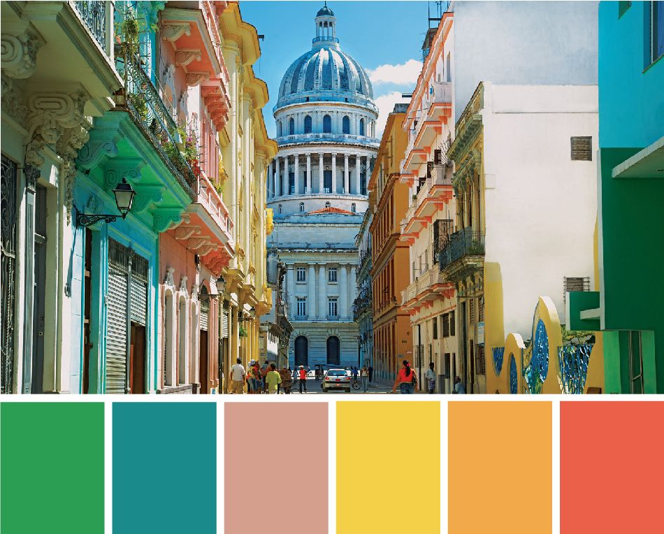 Havana Brights: Decor Inspired by Cuba. Havana ColorBright Color PalettesBright  ColorsBright DecorTropical ...