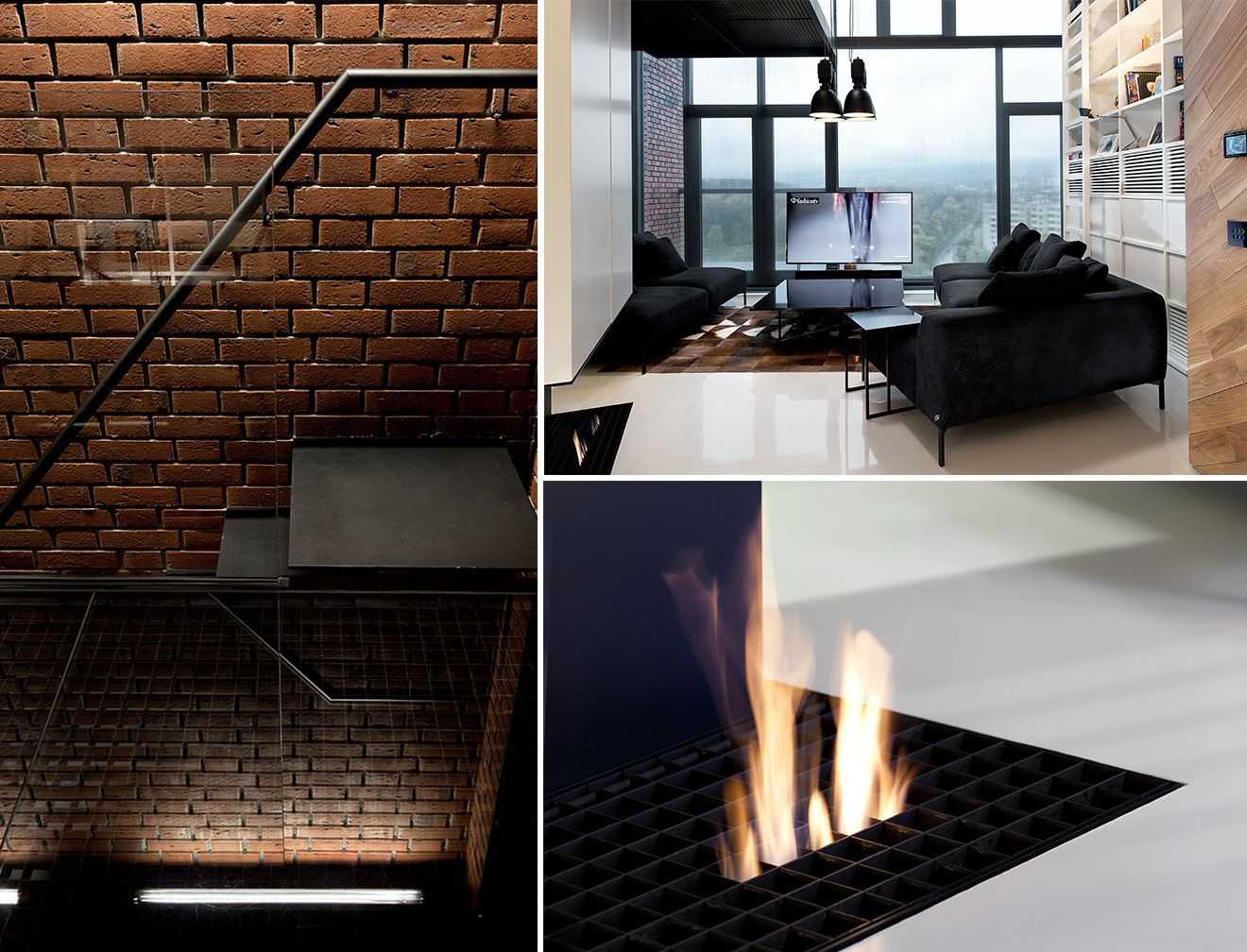 Modern Luxury Industrial Interior Design From Studio Mode