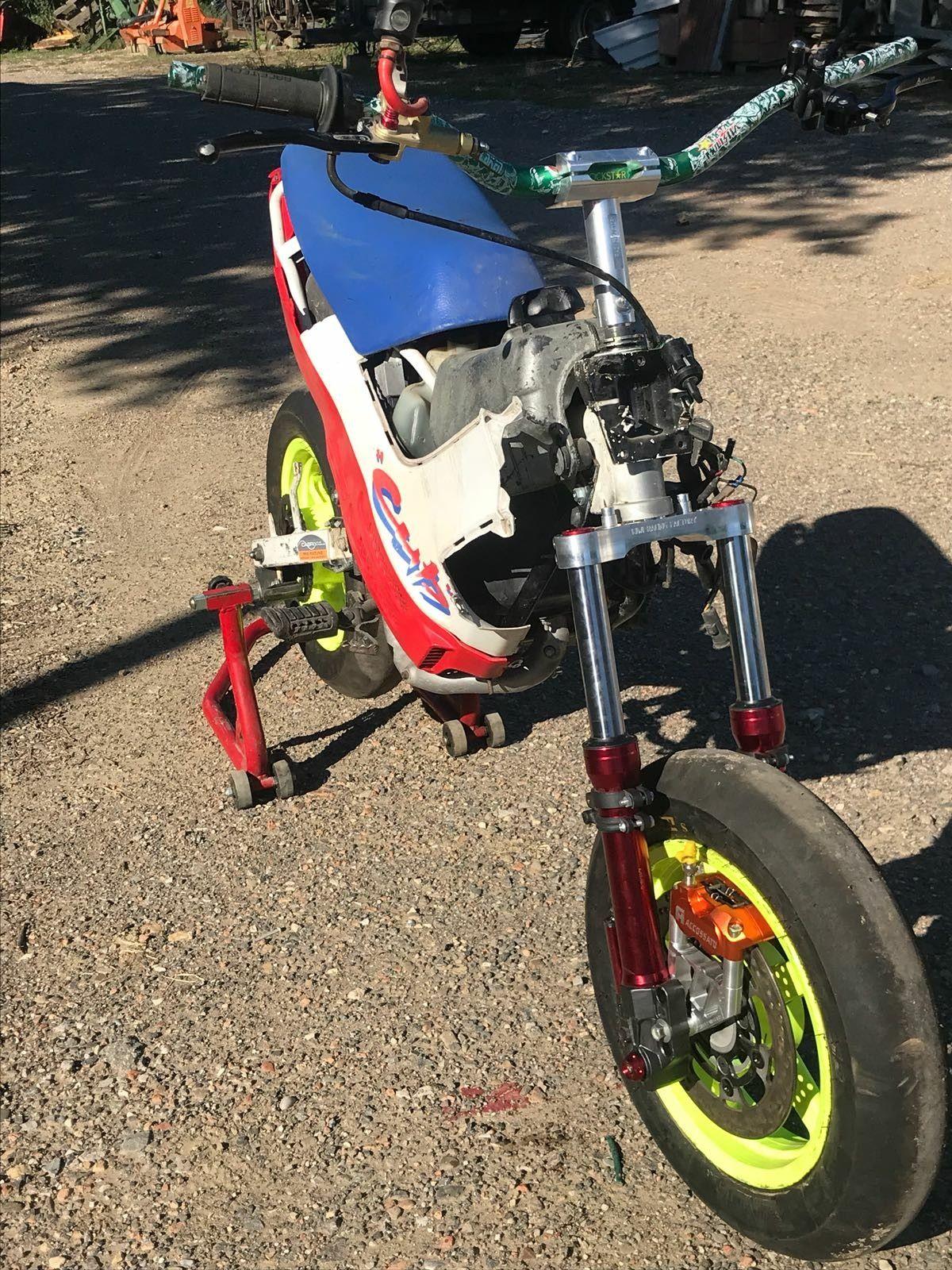 Pin de Leonardus Henky en Motorized Bikes (con imágenes