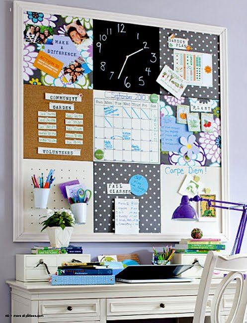 ChicDecó: Un tablero de inspiración DIY: inspiration board | Office ...
