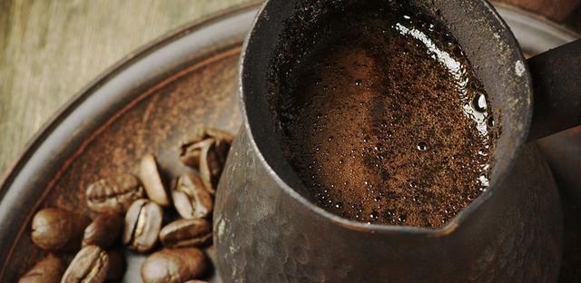 как варить кофе в зернах в турке