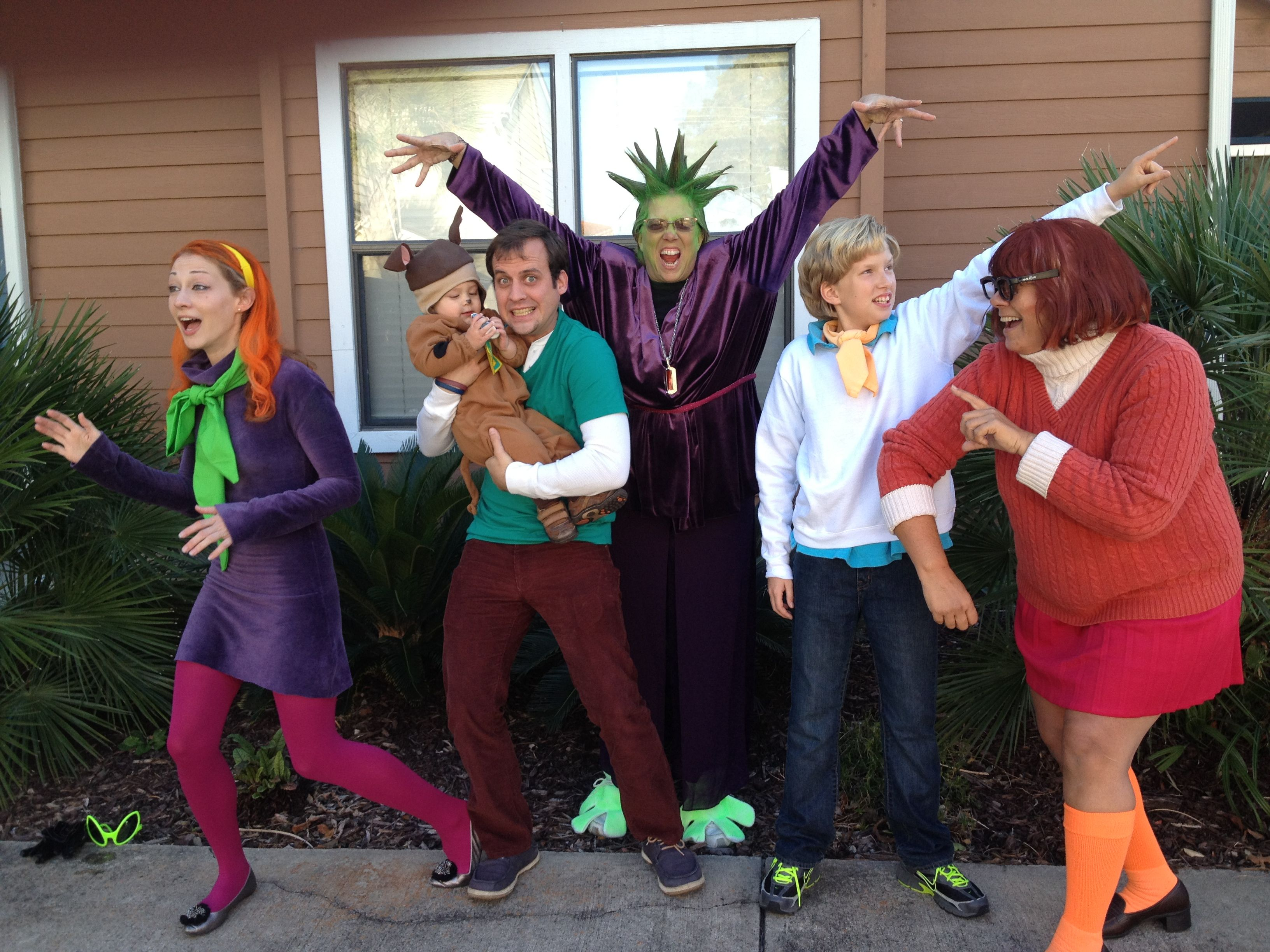 Scooby doo and the gang family Halloween costume- toddler, group ...