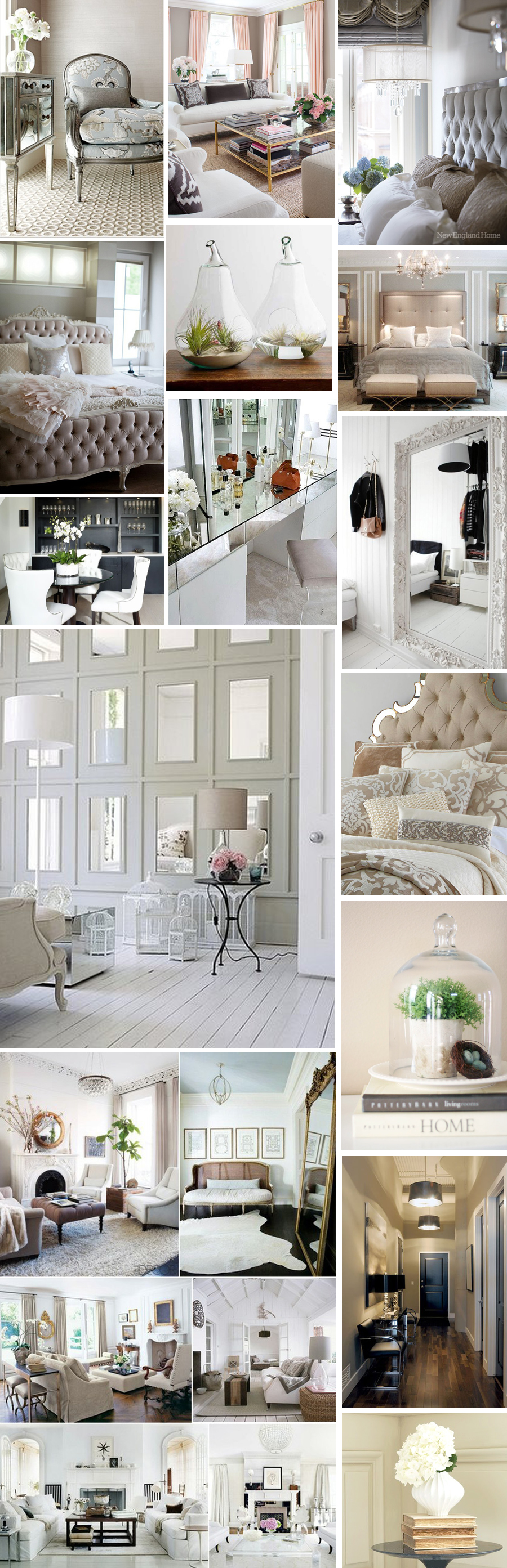 Mood board Interior inspiration bycelina Proof that a neutral
