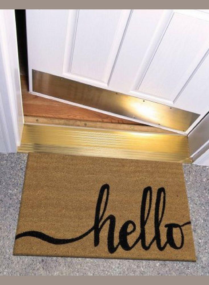 Hard to beat Walmart's awesome prices! Hello doormat, door