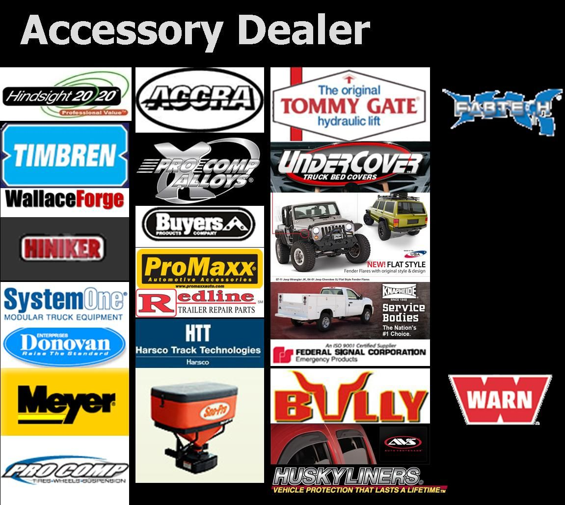 Some Brands we carry Equipment trailers
