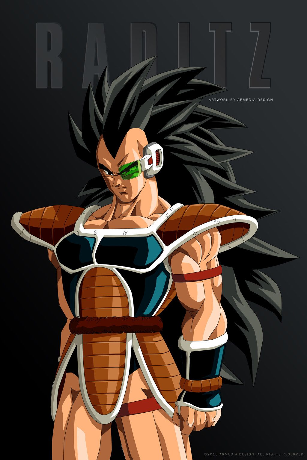 Dragon Ball Z Raditz The Saiyan By Altobello02 On Deviantart