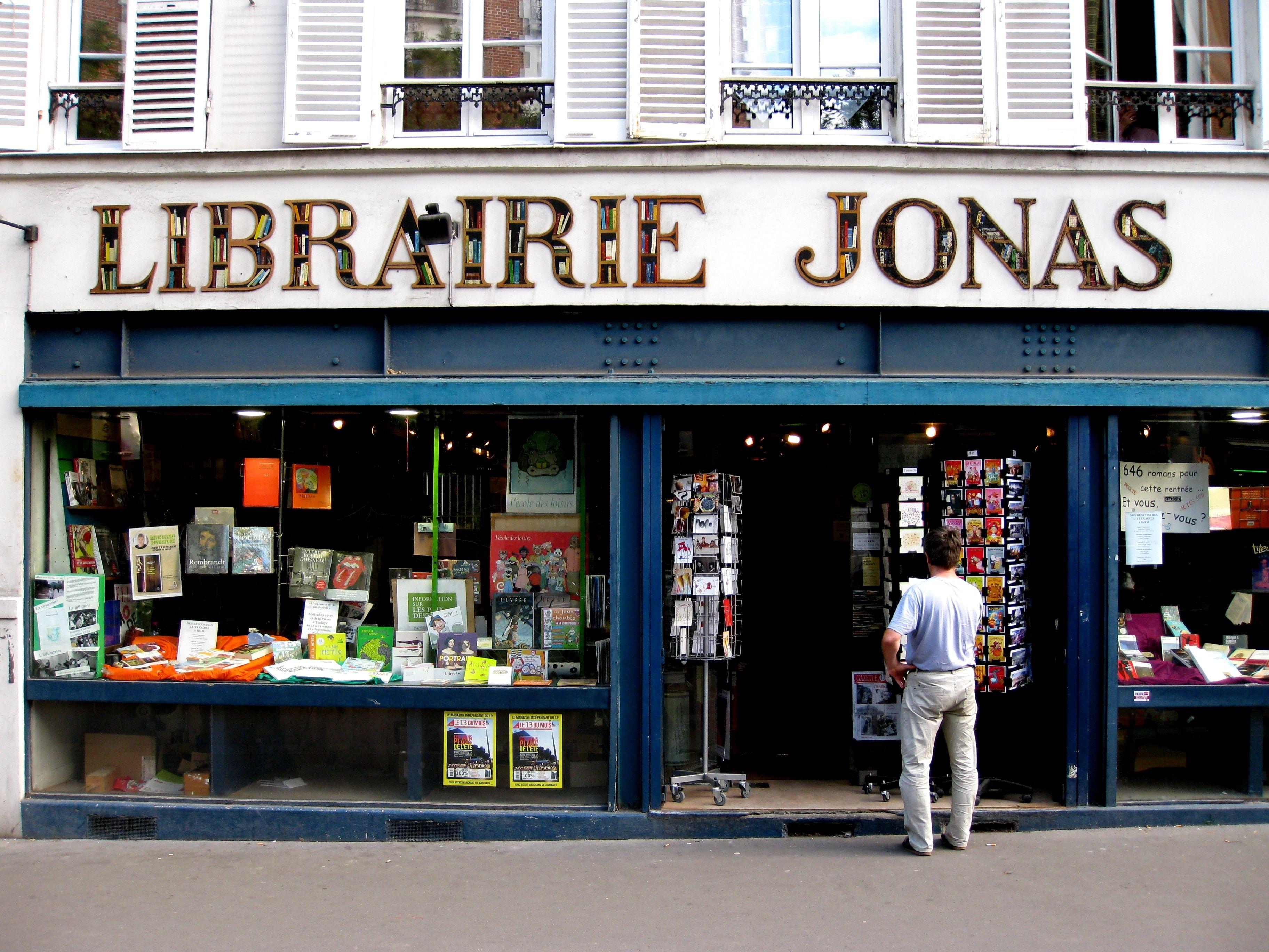 La librairie jonas 75013 les librairies et salon de th - Salon de the librairie ...