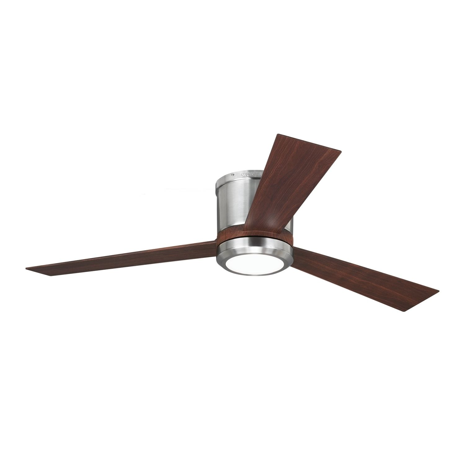 Monte carlo clarity brushed steel 52 inch ceiling fan overstock monte carlo clarity brushed steel 52 inch ceiling fan overstock shopping aloadofball Images