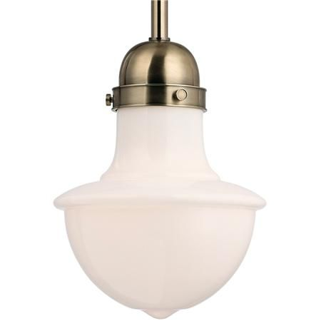 American Classic Milk Glass Pendant - Large - Shades of Light