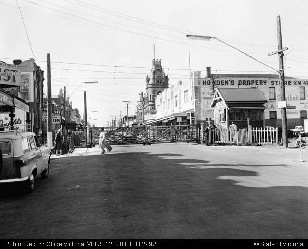 Gates Bay Street North Brighton 1963 Public Record Office Victoria Melbourne Suburbs Australia History Street
