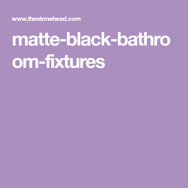 Photo of Matte Black Bathroom Faucets – All the matt black taps you can dream of