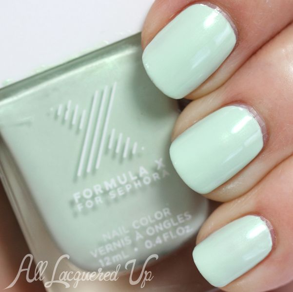 Nail The Trend - Mint Green Nail Polish for Spring   Esmalte