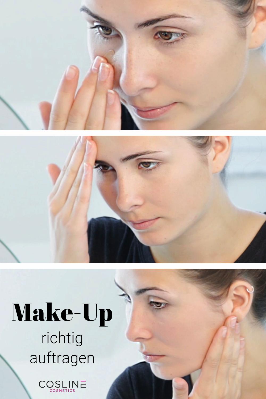 Make Up Auftragen Tipps