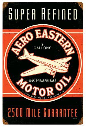 quotaero eastern motor oilquot sign plaques publicitaire