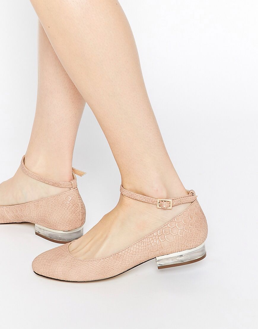 Pretty flats - workwear shoes - £25