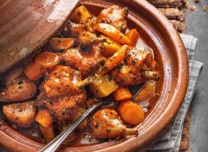 Marokkanische Gemüse-Tajine mit Couscous – Tajine rezepte