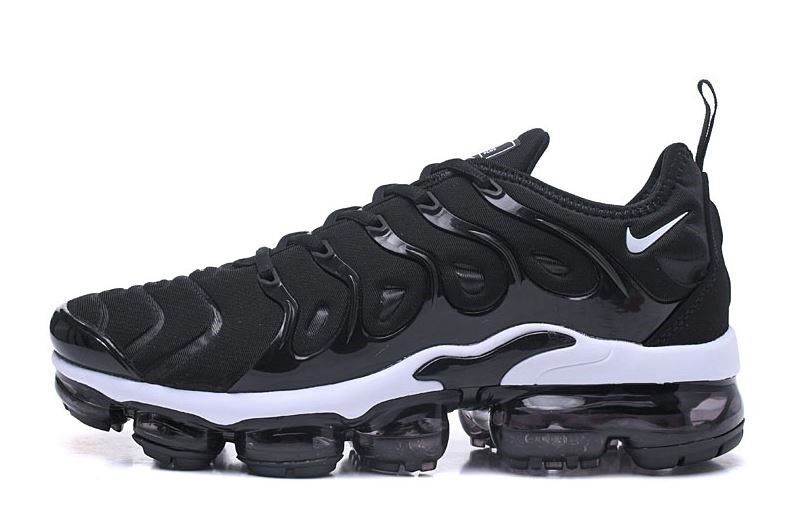 921202aefbcc Men s Nike VaporMax PlusBlack and White size 9.5  fashion  clothing  shoes   accessories  mensshoes  athleticshoes (ebay link)