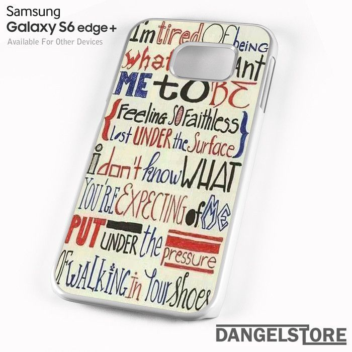 Linkin Park Lyrics 2 For Samsung S6 Edge Plus Case