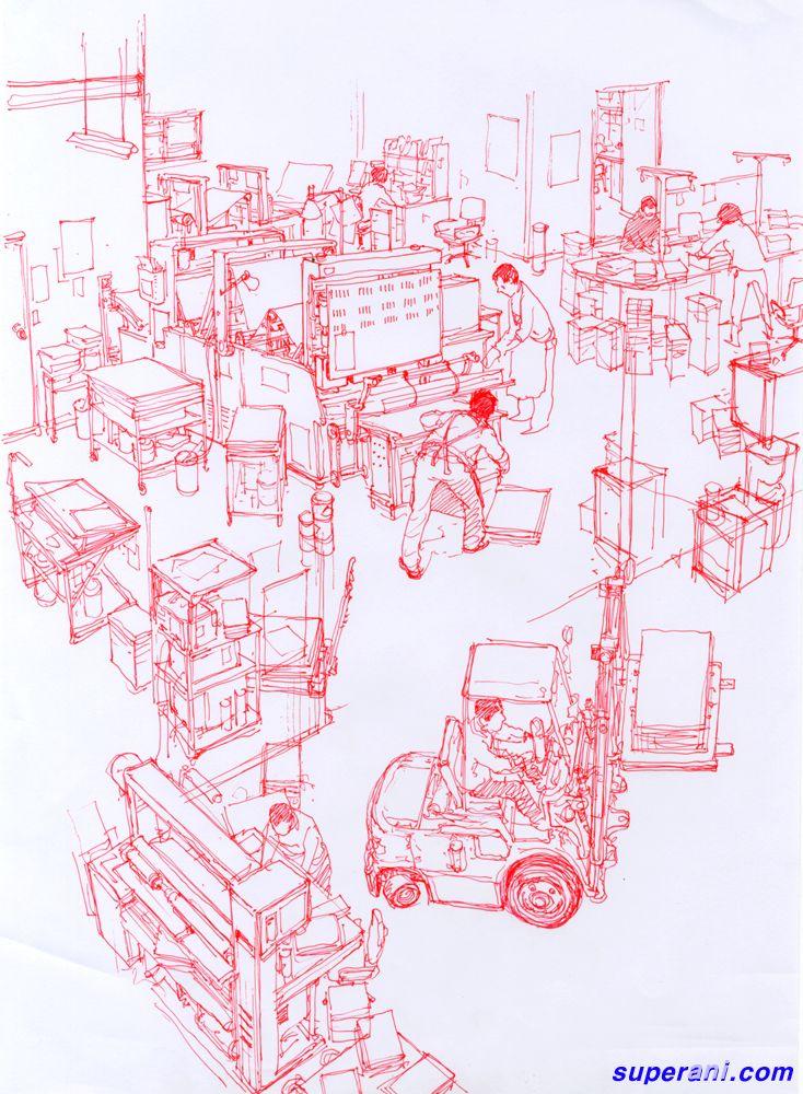 Array[   イラスト   Pinterest   Perspectiva, Dibujo y Ilustraciones