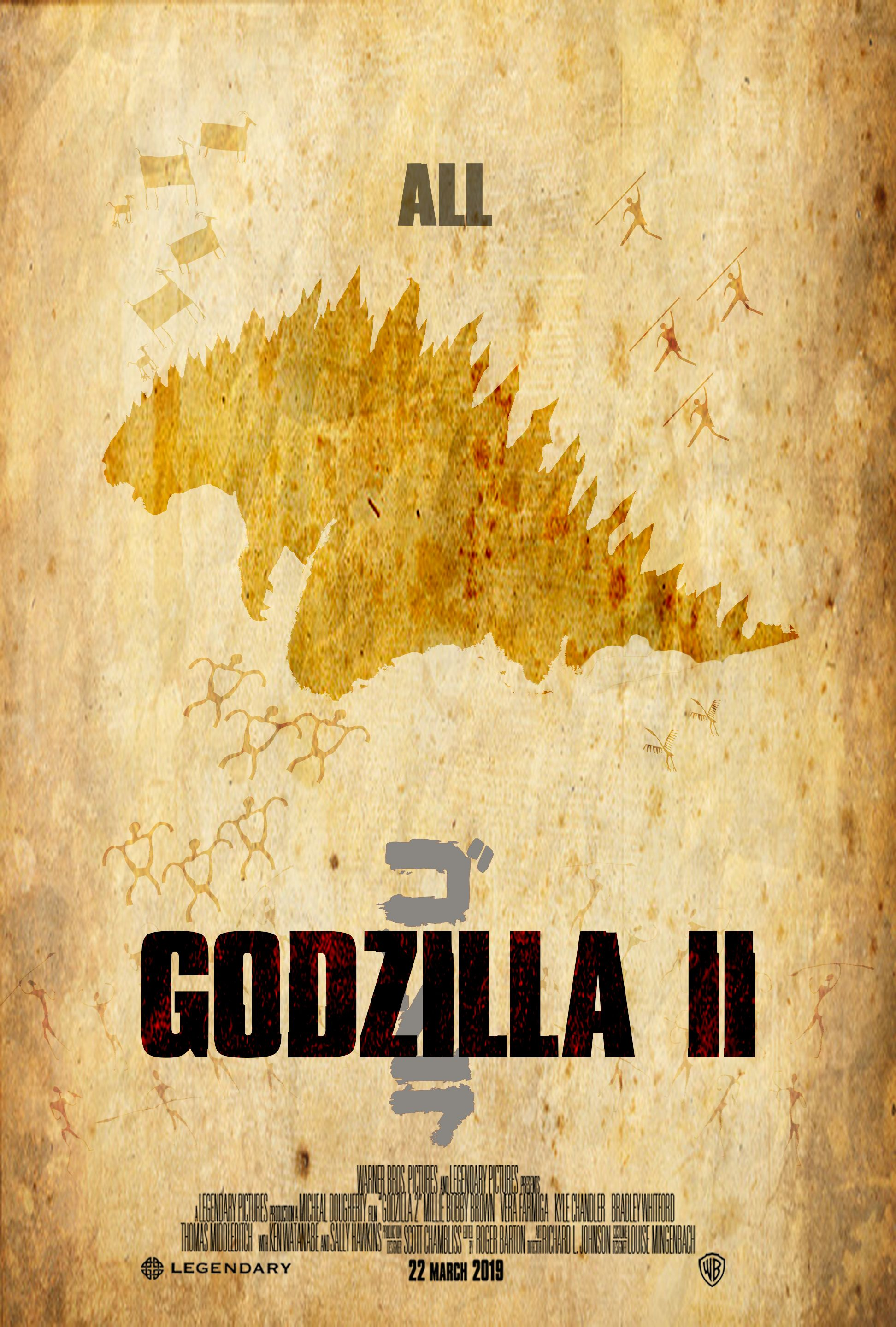 My vision of the Godzilla 2 poster. Created by Yip Simon. | Custom ...