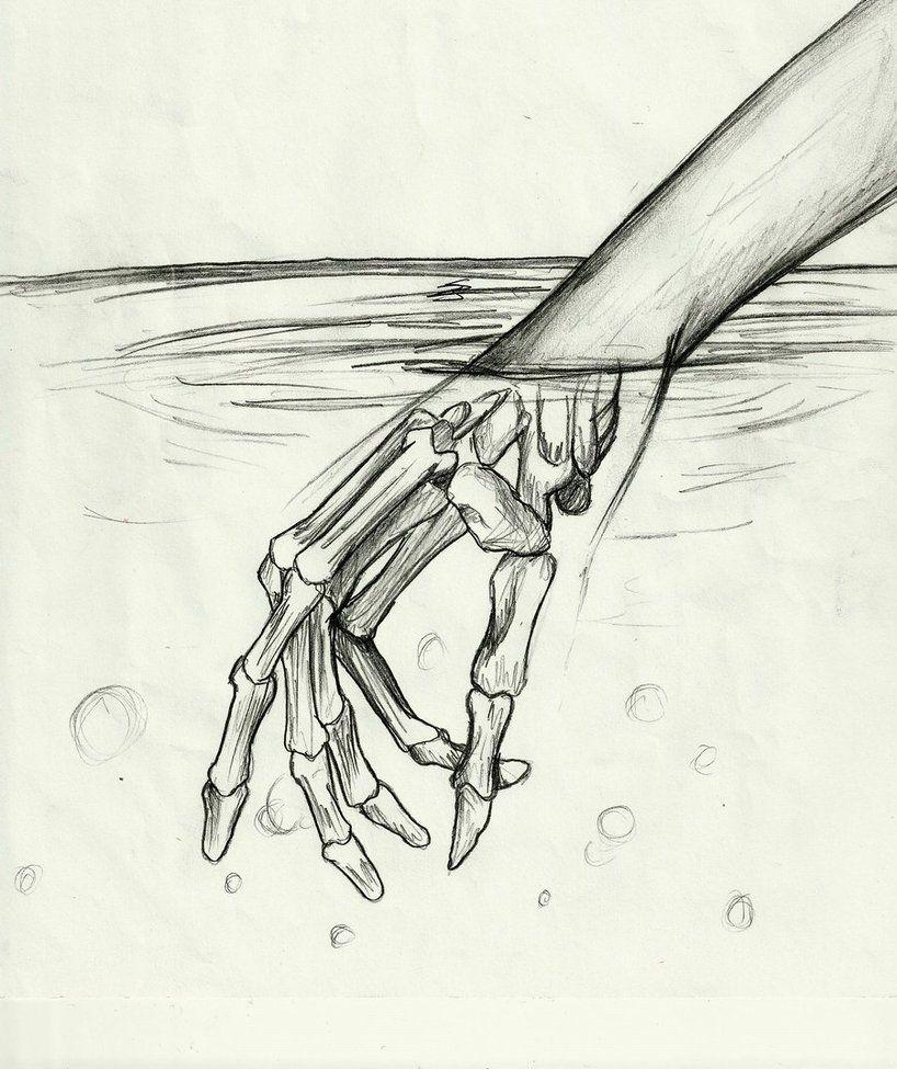 Hidden Meaning By Shadowtears832 Easy Pencil Drawings Cara Menggambar Gambar
