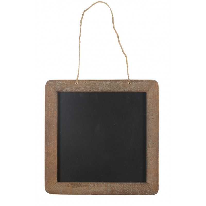 Tavle - Ib Laursen m/ træramme - KUN Kr. 59,- firkantet