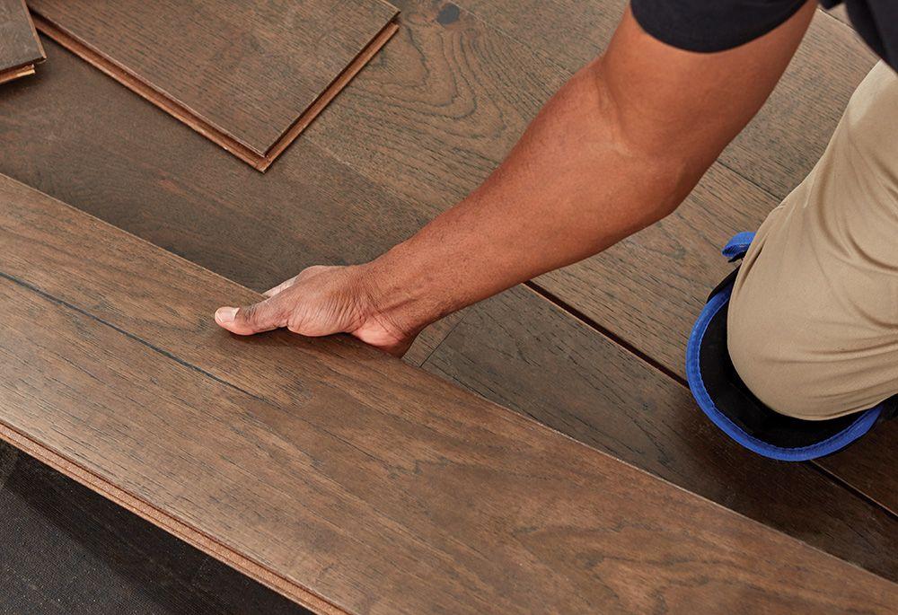 Home Depot Wood Flooring Installation In 2020 Hardwood Installation Allure Vinyl Plank Flooring Acacia Hardwood Flooring