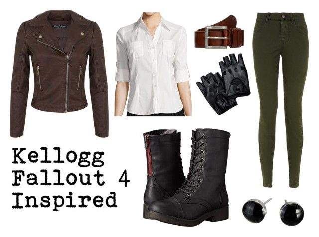 """Kellogg- Fallout 4 Inspired"" by schmidtsamantha ❤ liked on Polyvore featuring Miss Selfridge, by&by, New Look, Madden Girl and Mantaray"