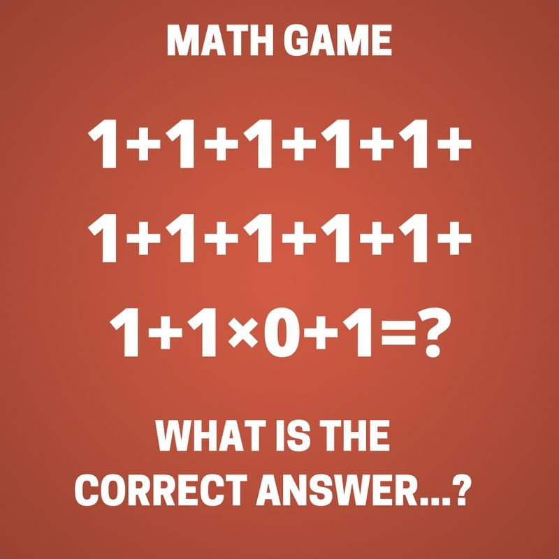 What Is The Correct Answer Puzzle Quiz Riddle Puzzles