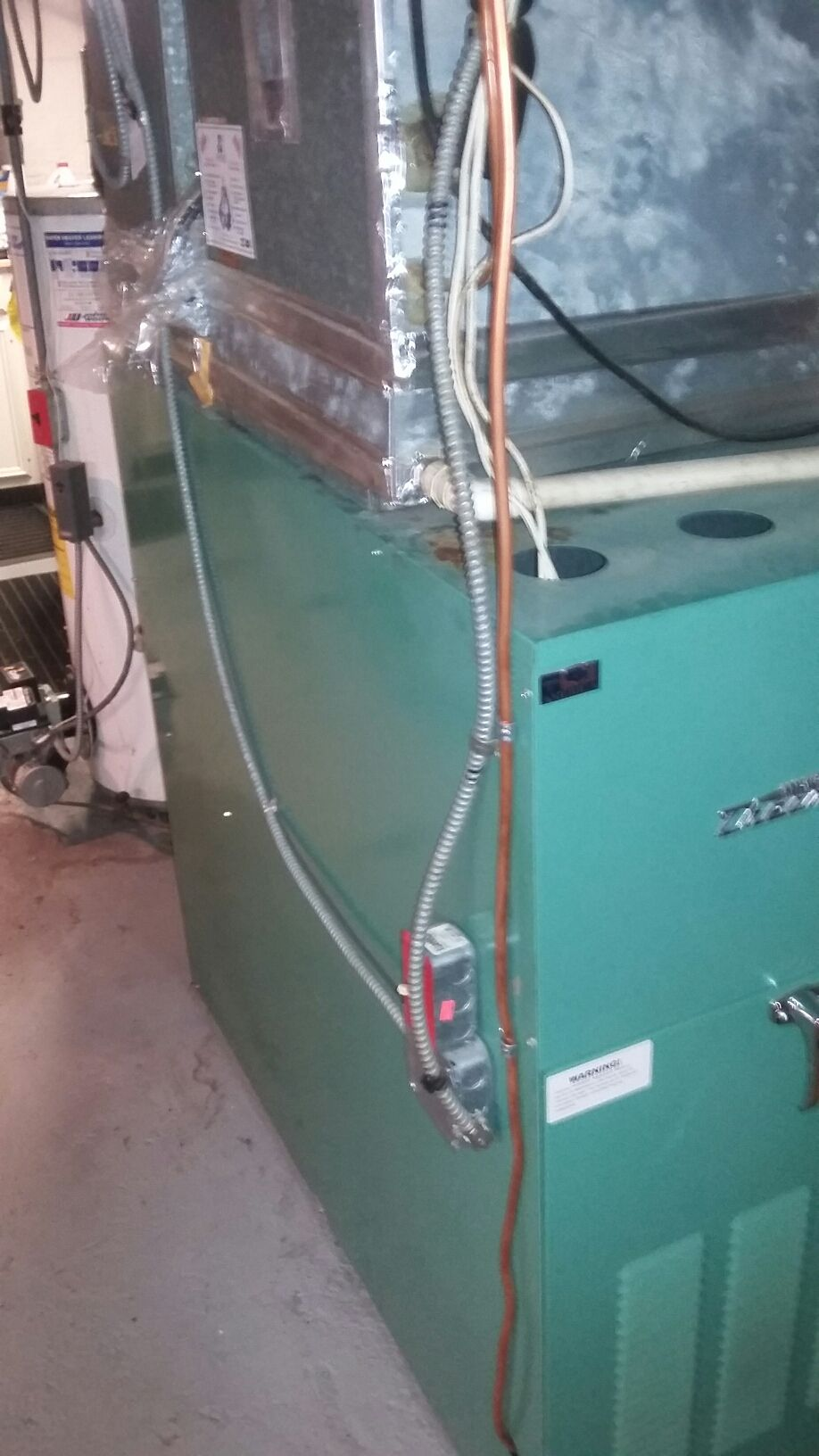 Precision tune up on heating oil fired furnace and water heater ...