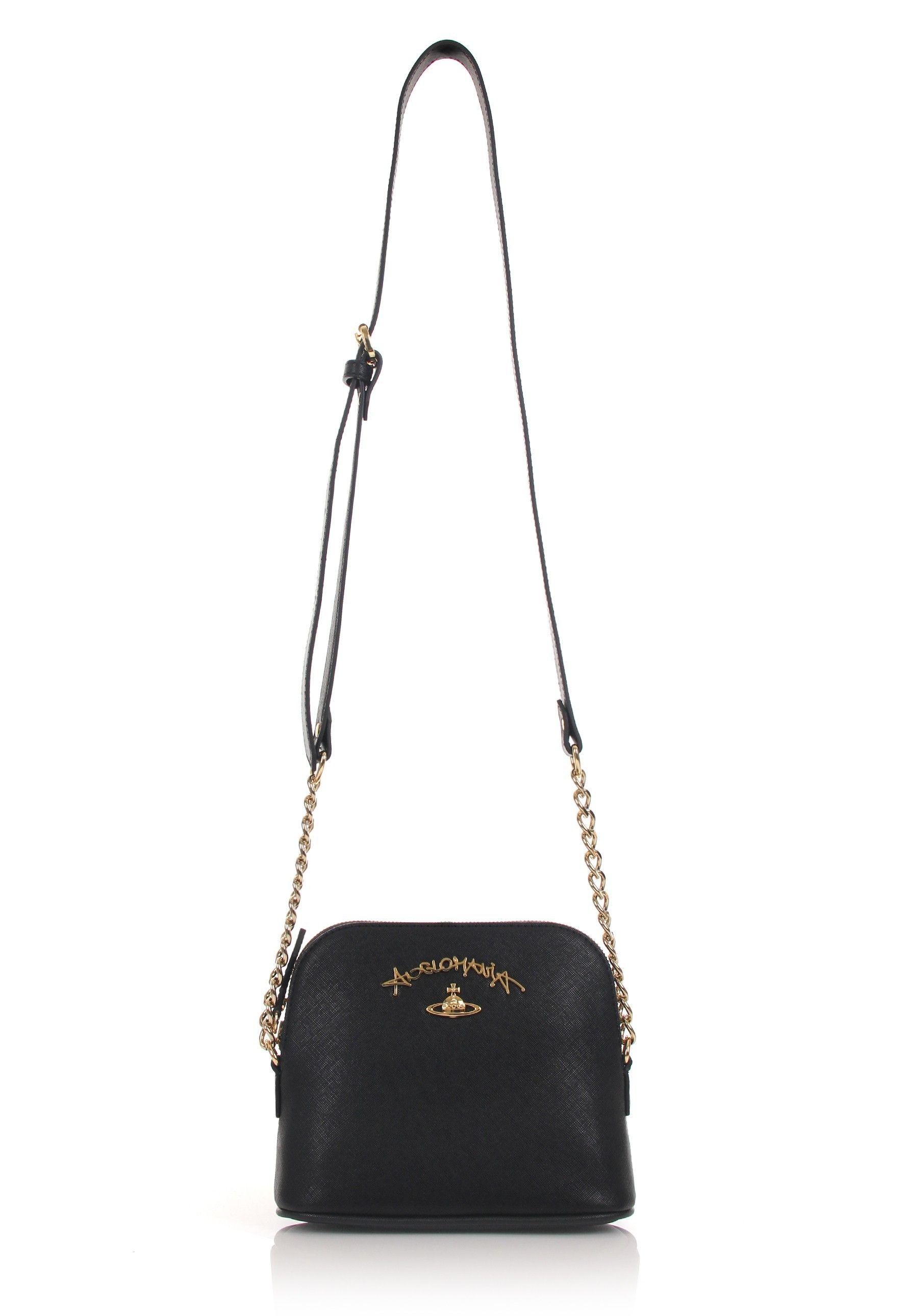 d4131e4bf Vivienne Westwood Divina 7280 Crossbody Bag in black. Vivienne Westwood's  new Divina crossbody bag is