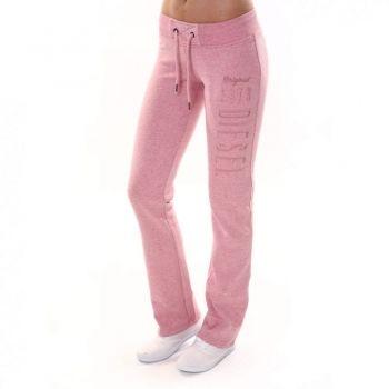 Leanne Dusty Rose: Price: € 29.00  Diesel ladies soft feel straight leg jogger in dusty rose melange.