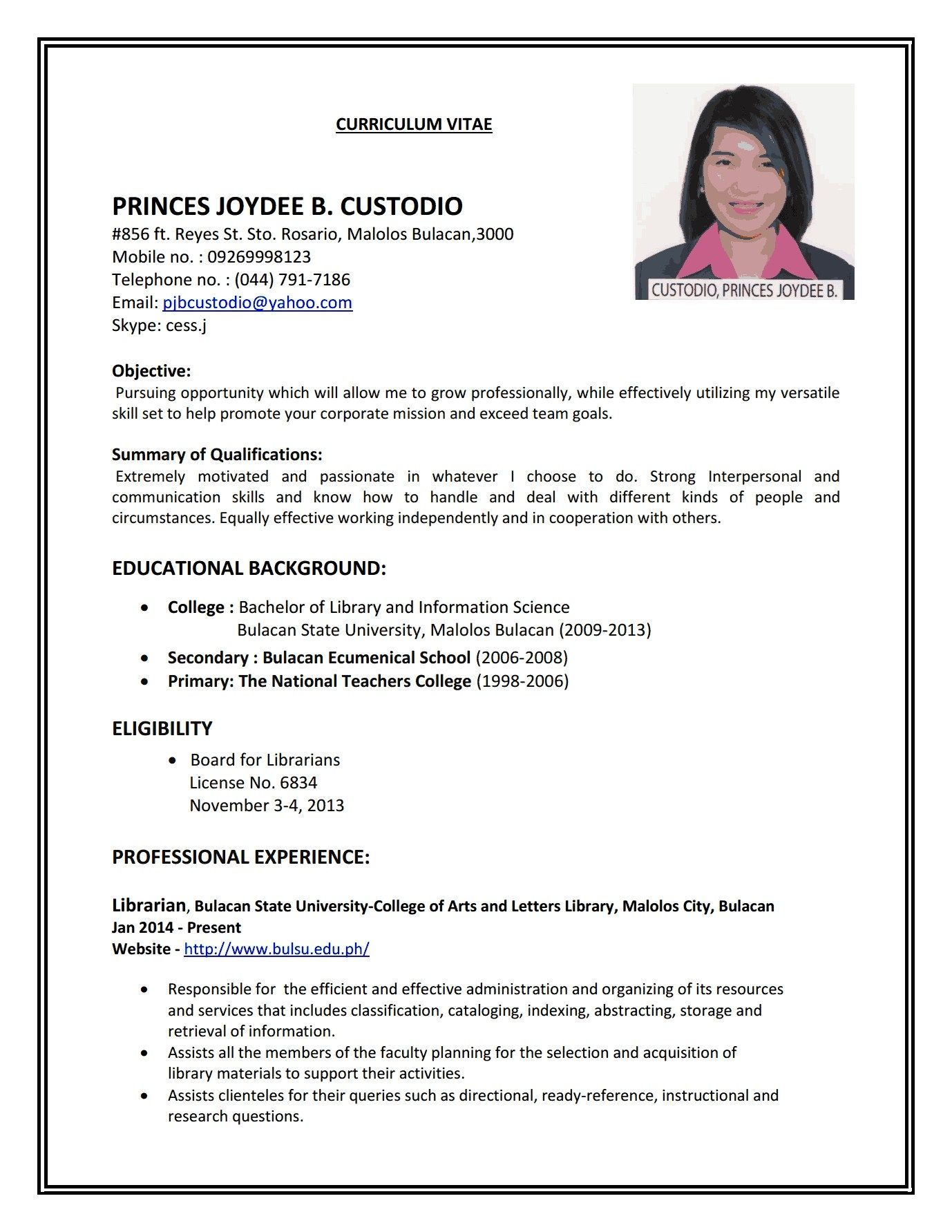 Stanford Resume Template Pin By Moci Bow On Resume Templates Resume Format Examples