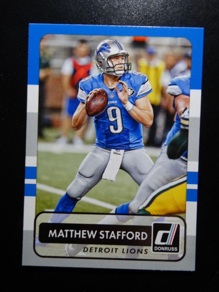 Details about 2015 Panini Donruss 19 Matthew Stafford
