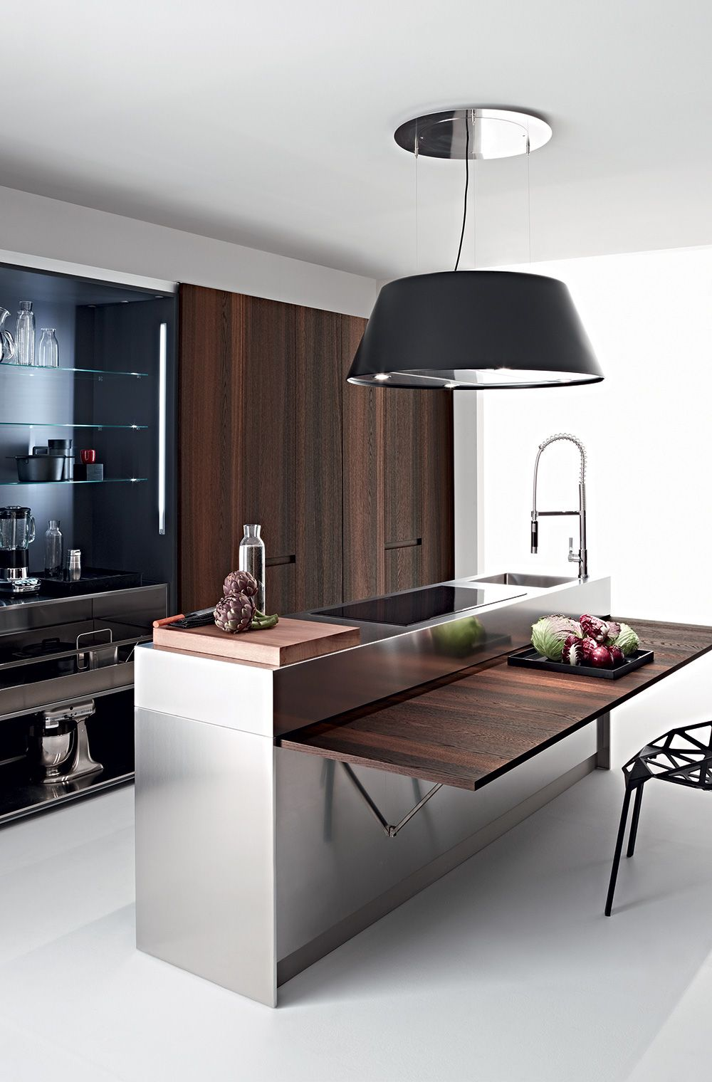 Slim & Wing Table  Elmar Cucine  Elmar Slim  Pinterest Gorgeous Space Saving Kitchen Designs Decorating Design